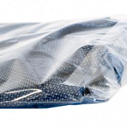 Sachet à fermeture adhésive 80 x 120 mm, Haute brillance, Résistant, Transparent, Apte à l'alimentaire (x1000)