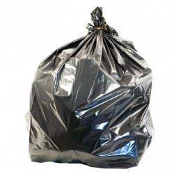 Sac poubelle 130 litres, Haute résistance, Opaque, Noir (x1000)